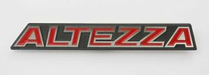 Fit For Toyota Altezza Rs200 Front Grille Aluminum Badge Emblem Logo is200