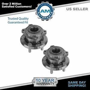 Rear Wheel Hub Bearing Pair For Charger Magnum 300 300c