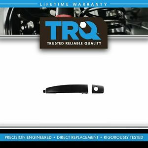 Door Handle With Keyhole Black Front Outer Lh Or Rh For Aveo Captiva Sport Vue
