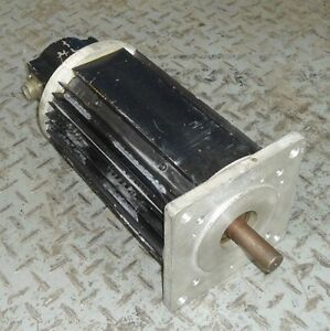 Icc International Cybernetics Corporation Ac Brushless Servo Motor 120 0021 00
