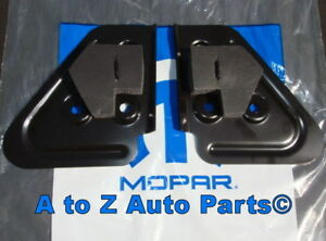 New 1994 2001 Dodge Ram Steel Tow Mirror Stabilizer Brackets Oem Mopar