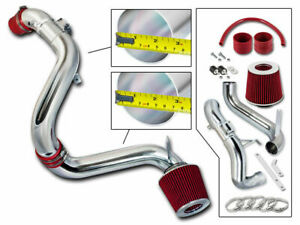Bcp Red 12 15 Civic Ex lx dx 1 8l Cold Air Intake Induction Kit Filter