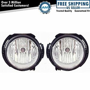 Driving Fog Lights Lamps Pair Set 15813307 15813308 For 06 11 Chevy Hhr