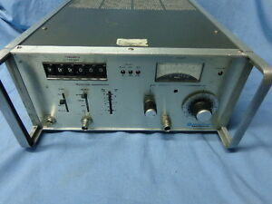 Motorola Signal Generator R 1010a 1 520 Mhz Vintage Test Equipment A top
