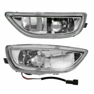 Fog Driving Lights Lamps Left Right Pair Set For 01 02 Toyota Corolla