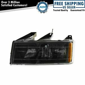 Headlight Headlamp W Black Bezel Driver Side Left Lh For 04 12 Colorado Canyon