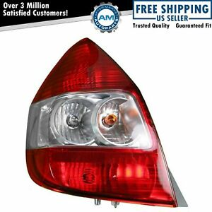 Taillight Taillamp Tail Brake Light Driver Side Left Lh For 07 08 Honda Fit