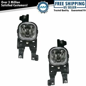 Fog Driving Lights Lamps Pair Set New For 08 10 F series Super Duty Pickup Truck