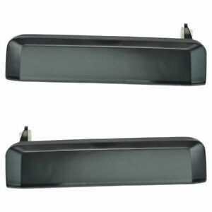 Outside Exterior Door Handle Front Pair Set For Nissan Pickup Truck