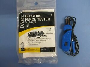 Electric Fence Tester Dare Single Light 460 New
