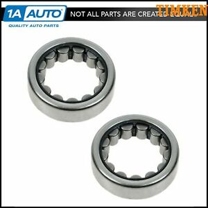 Timken 5707 Axle Shaft Wheel Bearing Rear Pair Set For Gm Dodge Ford Honda Jeep