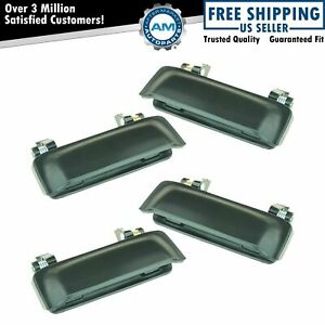 Outer Outside Exterior Door Handle 4 Piece Kit Set For Ford Explorer Mountaineer