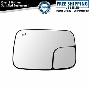 Dorman Power Heated Towing Mirror Glass Driver Side Left For Ram 1500 2500 3500