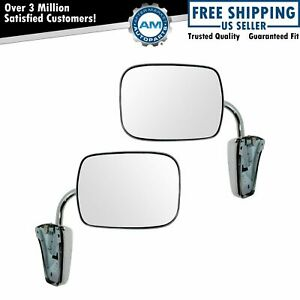 Dorman 955 190 Mirror Stainless Pair Set For Chevy Blazer Pickup Truck Gmc