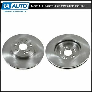 Vented Front Disc Brake Rotor Pair Set For 95 00 Ls 400 New