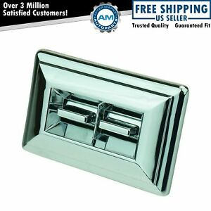 Power Window Switch With Trim For 78 90 Pickup Truck Gm Chrome 2 Button