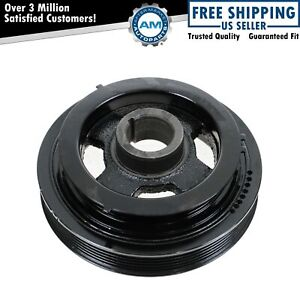 Harmonic Balancer Crankshaft Belt Drive Pulley For 95 01 Nissan Maxima I30