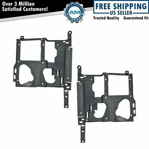 Headlight Headlamp Brackets Left Right Pair Set For Chevy Gmc Pickup Truck