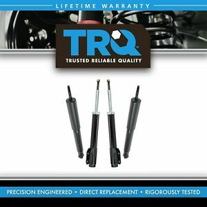 Trq Front Rear Shock Struts Left Right Kit Set Of 4 New For 94 04 Ford Mustang