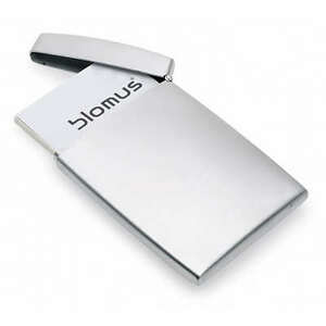 Blomus Gents Stainless Steel Business Card Holder Hinged 68257 Name Case