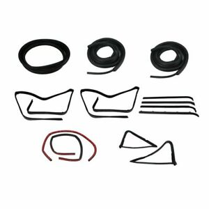 Complete Seal Kit All Black Window Trim For F Series 80 86