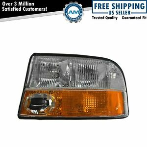 Headlight Headlamp W Fog Light Driver Side Left Lh For Gmc Jimmy S 15 Truck