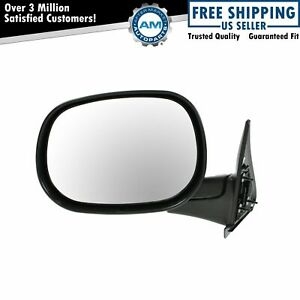 Folding Manual Side View Mirror Driver Left Lh For Dodge Ram Pickup Truck