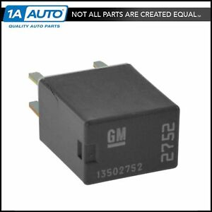 Ac Delco D1786c Multiuse Relay Gray For Buick Pontiac Cadillac Chevy Pickup