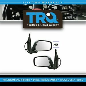 Chrome Power Mirrors Pair Set For Nissan Frontier Suzuki Equator Pickup Truck