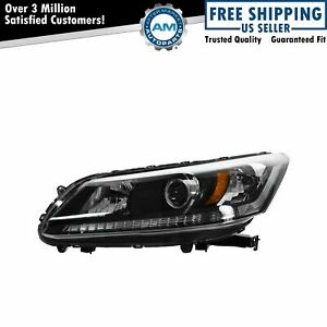 Headlight Headlamp Halogen Driver Side Left Lh For 13 Honda Accord 4 Door Sedan