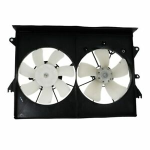 Radiator Dual A c Radiator Cooling Fan Assembly W Motor For 05 10 Scion Tc