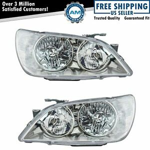 Hid Xenon Headlights Headlamps Left Right Pair Set New For 01 05 Lexus Is300