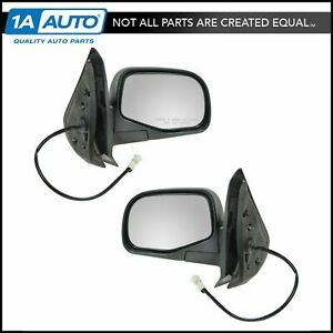 Power Mirrors Pair Set Left Right Lh Rh For 01 05 Ford Explorer Sport Trac
