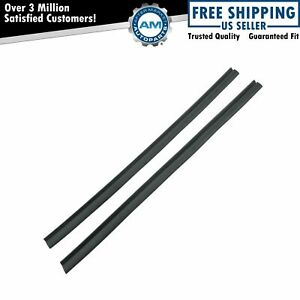 Quarter Window Vertical Seals For 64 65 Buick Riviera Ford Falcon Chevy Impala