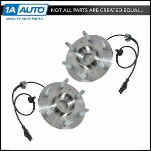 Ac Delco Fw346 Front Wheel Hubs Bearings Pair Set For Chevy Gmc Pickup 4wd 4x4