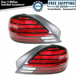 Taillight Taillamp Pair For Pontiac Grand Am Se 99 04 05