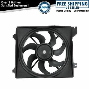 Radiator Cooling Fan Assembly Driver Side Left Lh For 06 10 Rio Rio5 W Ac A c