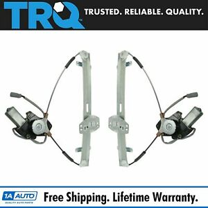Trq Power Window Regulators W Motor Front Pair Lh Rh For 03 11 Honda Element