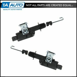Power Door Lock Actuator Rear Pair Set For Lincoln Navigator Ford Expedition