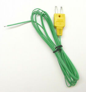 Extra Long 200 Inch K type Thermocouple Wire For Digital Thermometer Temperature