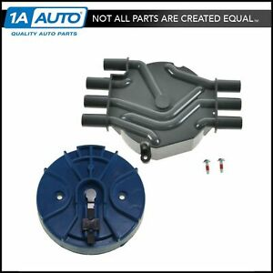 Distributor Cap And Rotor Kit Set For 95 05 Chevy Gmc Isuzu Olds V6 4 3