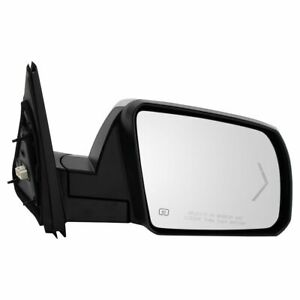 Mirror Power Folding Heated Memory Signal Chrome Passenger Rh For Tundra Sequoia