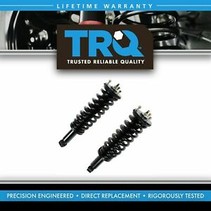 Trq Loaded Shock Strut Spring Assembly Front Lh Rh Pair Set For 00 06 Tundra