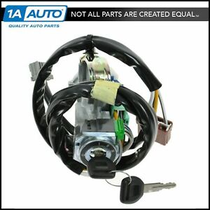 Ignition Switch Lock Cylinder key W Automatic Transmission For Acura Cl Accord