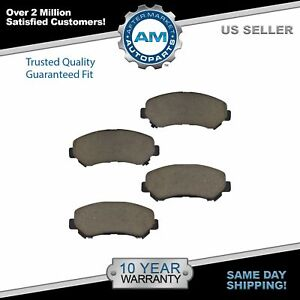 Nakamoto Front Posi Ceramic Brake Pad Kit For Nissan Sentra Se R Spec V Rogue
