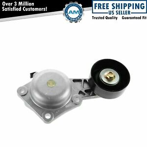 Serpentine Belt Tensioner W Pulley For Ford Lincoln Mercury