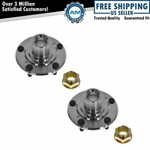 Front Wheel Hub Left Right Pair Set Of 2 For Accord Civic Element Tsx