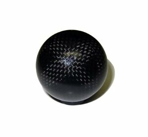 Vms 10x1 5mm Threaded Round Ball Real Carbon Fiber Shift Knob Honda Acura