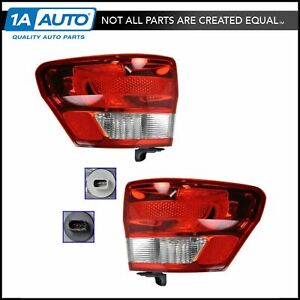 Outer Brake Light Taillight Taillamp Pair Set Of 2 For 11 13 Jeep Grand Cherokee