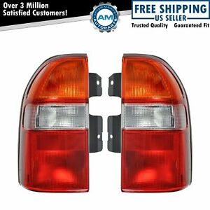 Taillight Taillamp Pair For Pontiac Grand Vitara Xl 7 Chevy